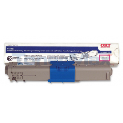 OKI C530DN TONER CARTRIDGE MAGENTA